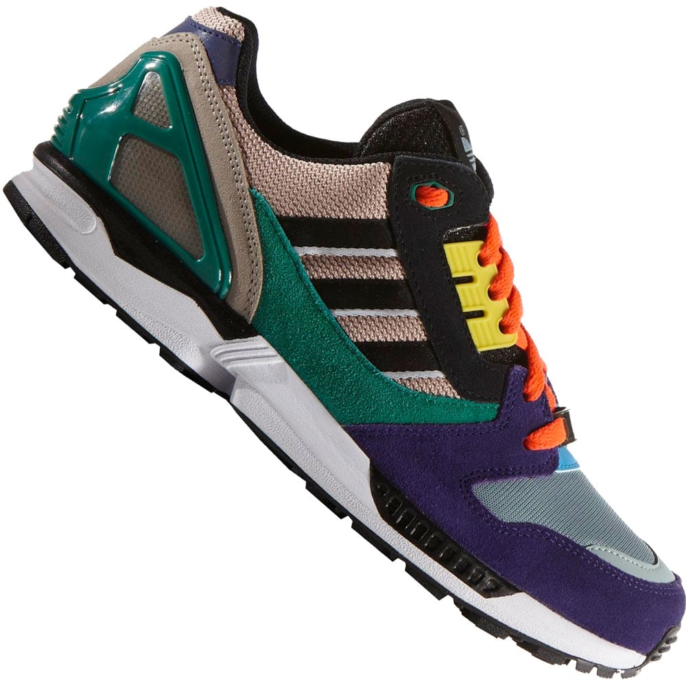 adidas originals zx 8000 b24861 herren sneaker pearl black green fun sport vision. Black Bedroom Furniture Sets. Home Design Ideas