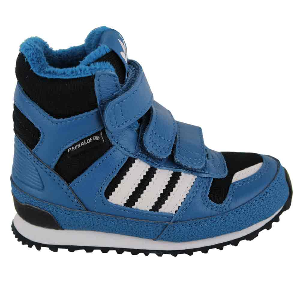 adidas zx winter cf i kinder schuhe g95918 blue fun. Black Bedroom Furniture Sets. Home Design Ideas