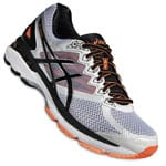 asics GT-2000 4 Herren-Laufschuhe T606N-0190 White/Black/Hot Orange