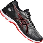 asics Performance Gel-Nimbus 20 Herren-Laufschuhe Black/Red