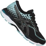 asics Performance Gel-Cumulus 19 Damen-Laufschuhe Black/Porcelain Blue