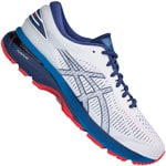 asics Performance Gel-Kayano 25 Herren-Laufschuhe White/Blue