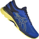asics Performance Gel-Kayano 25 Herren-Laufschuhe Blue/Lemon
