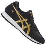 Asics Tiger Gel-Movimentum Damen-Sneaker Black/Rich Gold