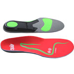 Boot Doc Comfort S7 Insoles Low Arch - Red