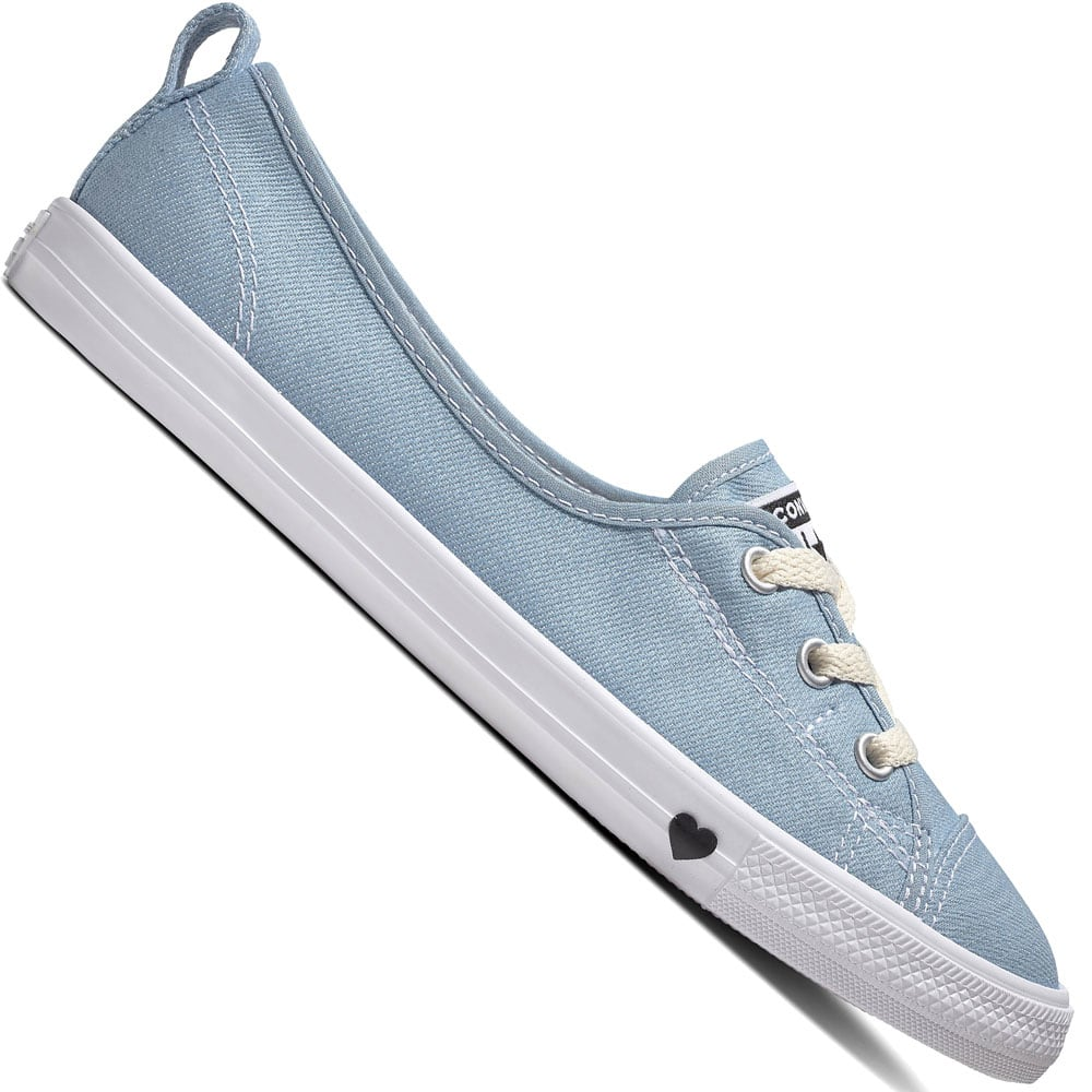 Converse Chuck Taylor All Star Ballet Lace Slip Schuhe  Light Blue