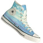 Converse CT All Star Hi Damen Sneaker 551007C Spray Paint