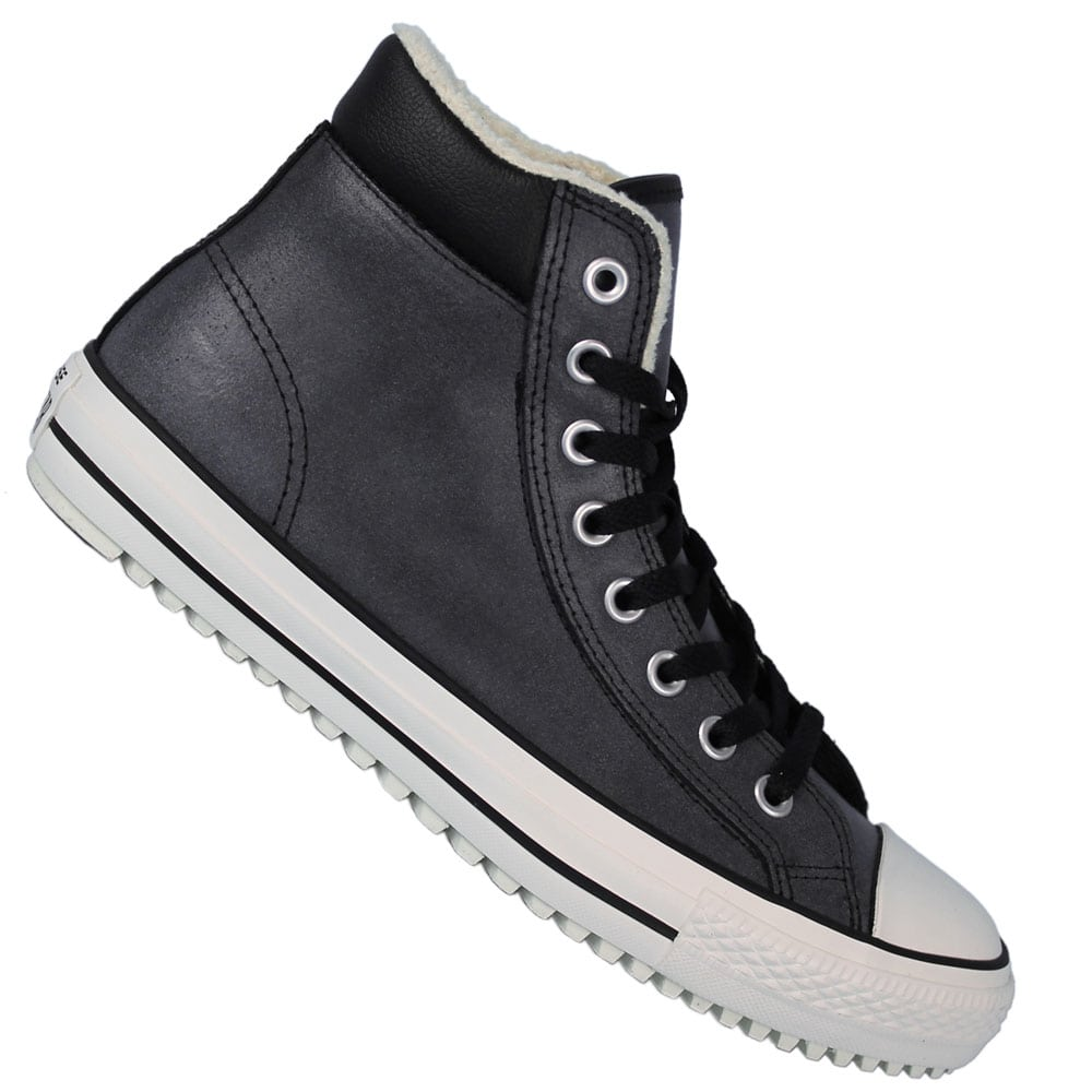 ca12cffebbb2 Converse CT AS Boot 2.0 Leather Shearling 149389C Black Egret