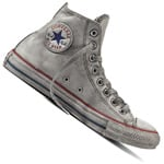 Converse Chuck Taylor All Star HI Vintage Leather Unisex-Sneaker White