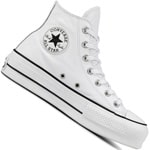 Converse Chuck Taylor All Star Lift Clean Hi Damen-Sneaker White/Black