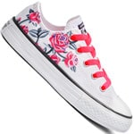 Converse Chuck Taylor All Star OX Junior Sneaker White Pink