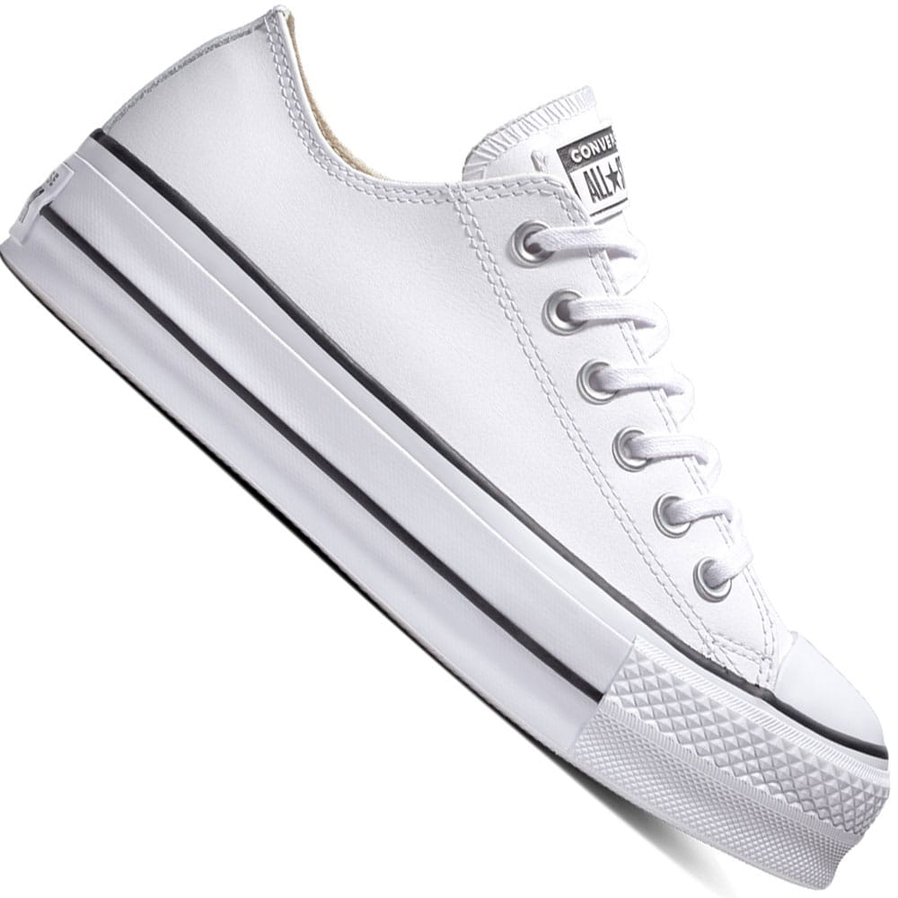 Converse Chuck Taylor All Star Lift Clean Leather OX White