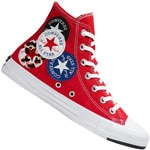 Converse CT All Star Hi Logo Play University Red