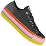 Converse CT All Star Lift Ox Pride Black/White/Coastal Pink