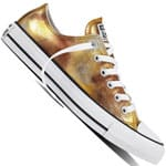 Converse Chuck Taylor All Star OX Damen-Sneaker Silver/Gold