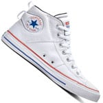 Converse CT All Star Canvas Mid White