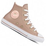 Converse CT All Star HI Junior Kinder-Sneaker Diffused taupe