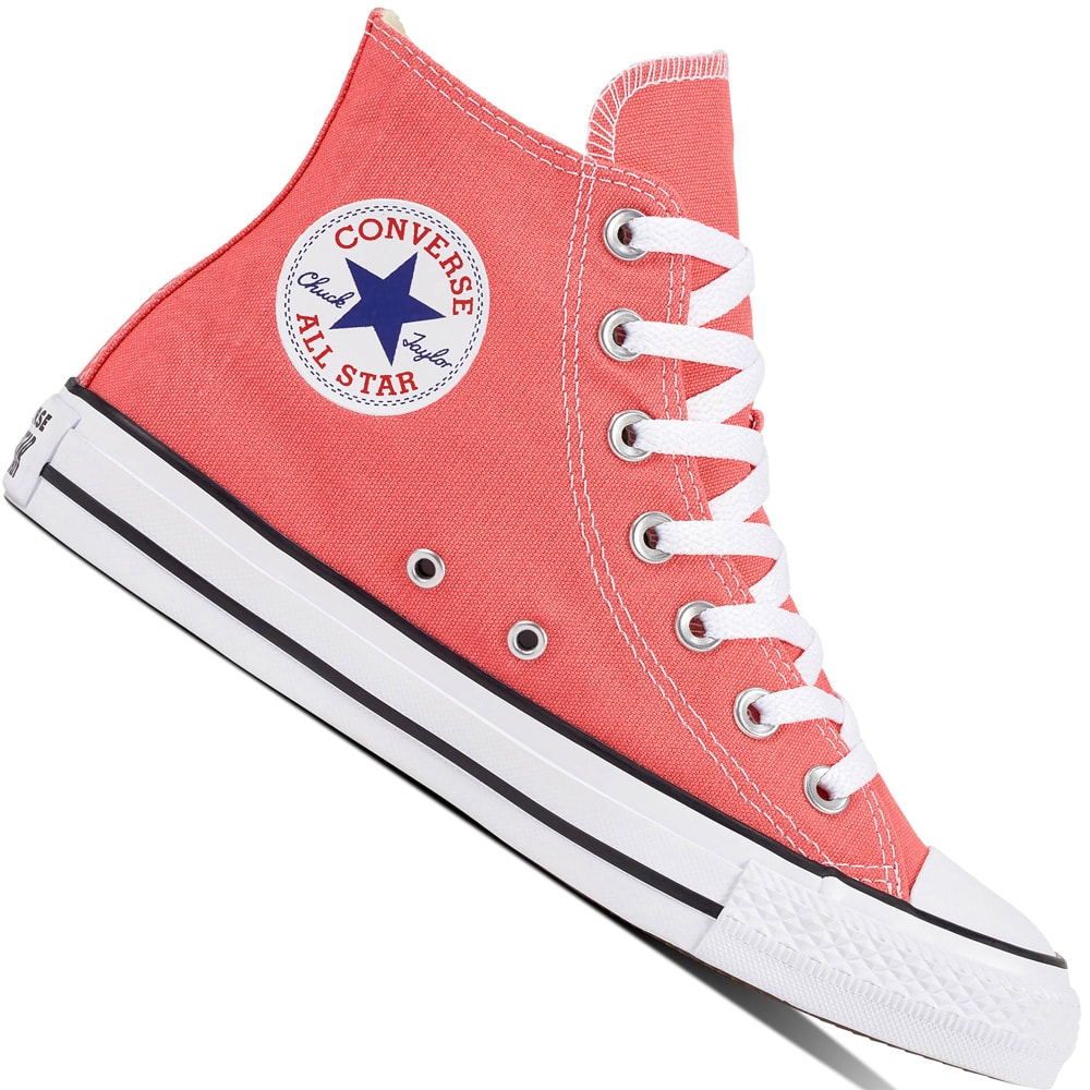 Converse CT All Star Hi Unisex-Sneaker Punch Coral | Fun-Sport-Vision