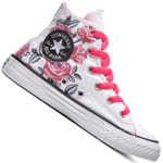 Converse Chuck Taylor All Star Hi Sneaker White Racer Pink