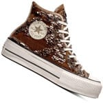 Converse CT All Star Lift Hi Sequins Damen-Sneaker Engine Smoke