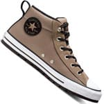 Converse Chuck Taylor All Star Street Mid Mason Toupe/White/Black