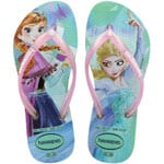 Havaianas Kids Slim Frozen Kinder-Schlappen Ice Blue