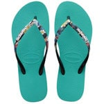 Havaianas Slim Strapped Lake Green