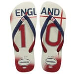 Havaianas Teams II CF England Flip White/Navy Blue/Red Flops