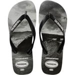 Havaianas Top Photo Print Schlappen Black/White