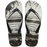 Havaianas Top Photo Print Flip Black Flops