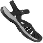 Keen Rose Sandal Damen Black Neutral Gray