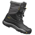 Keen Basin WP Youth Kinder-Winterstiefel Black/Gargoyle