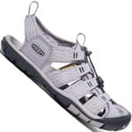 Keen Clearwater CNX Damen-Sandalen Dapple Grey/Dress Blue