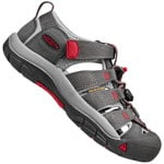 Keen Youth Newport H2 Kinder-Sandalen Magnet/Tango Red
