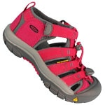 Keen Newport H2 Junior Sandale Rose Red/Gargoyle