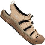 Keen Newport Retro Herren-Sandale Hemp/Dark Earth
