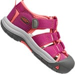 Keen Tots Newport H2 Kleinkind-Sandalen Very Berry/Fusion Coral