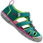 Keen Seacamp II CNX Junior Sandale Everglad Jasmin Green