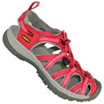 Keen Whisper W Sandale (Barberry/Neutral Gray)