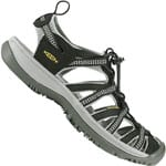 Keen Whisper Damen-Sandalen Black/Neutral Gray