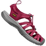 Keen Whisper W Damen Sandale Beet Red/Honeysuckle