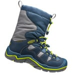 Keen Winterport II Children Winterstiefel Midnight Navy/Jasmine Green