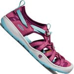Keen Youth Moxie Jugend-Sandale Red Violet/Pastel Turquoise