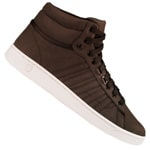 K-Swiss Hoke Mid CMF Herren-Sneaker Chocolate/Cloud Dancer