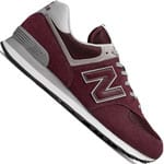 New Balance 574 Core Sneaker Burgundy