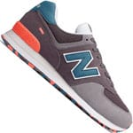 New Balance 574 Marbled Street Pack Sneaker Light Shale