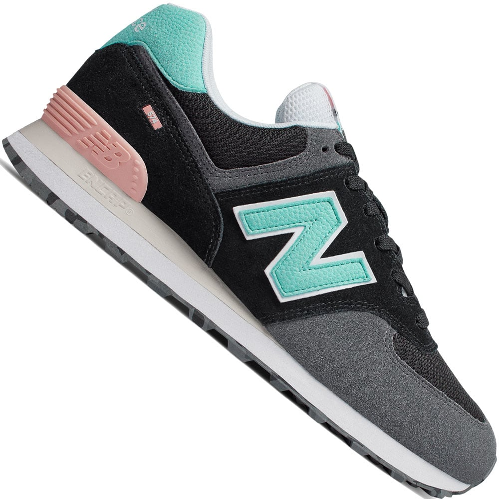 New Balance 574 Marbled Street Pack Sneaker Black