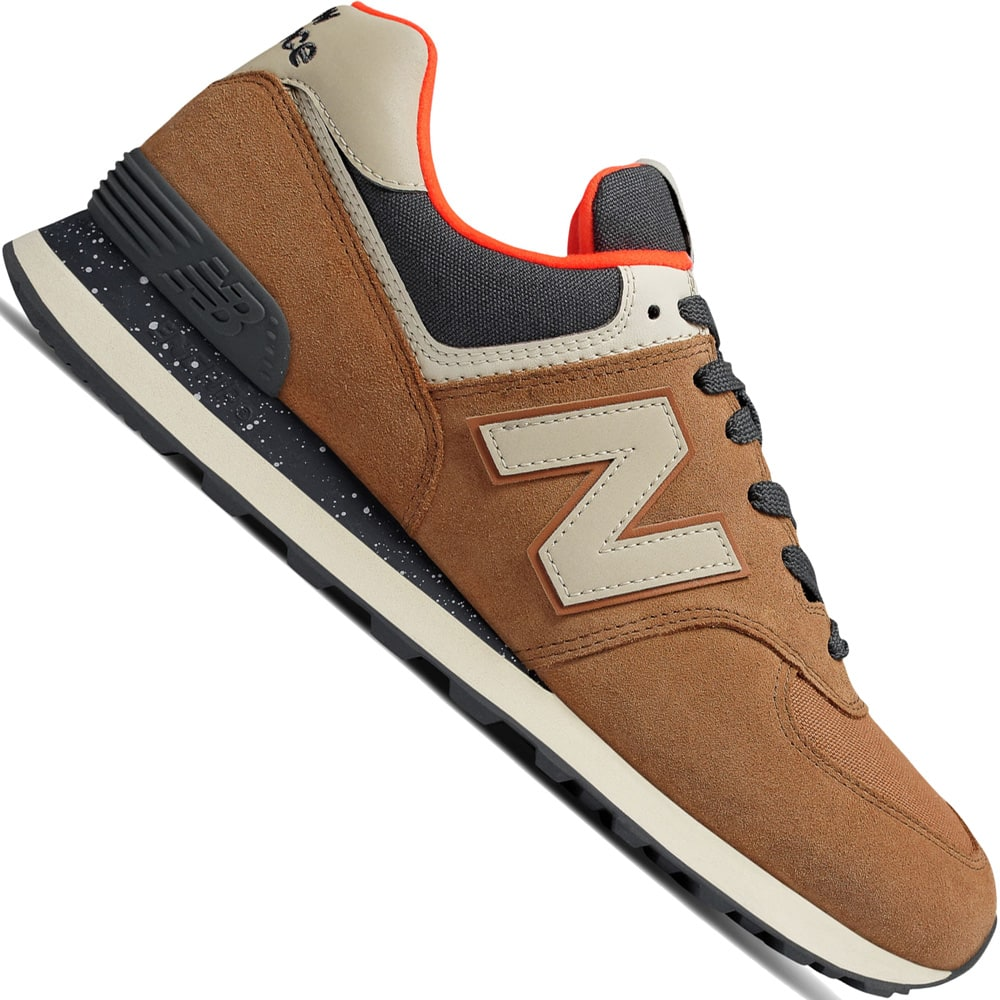 New Balance 574 Herren-Sneaker Brown Sugar