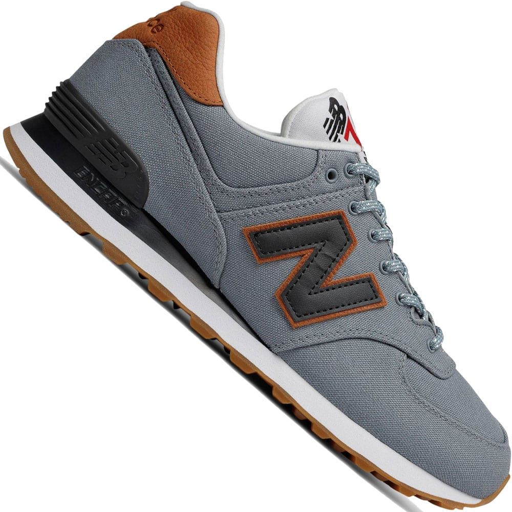New Balance ml574yld 633131 sneakers low grau Herren