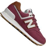 New Balance 574 Sea Escape Damen-Sneaker Dragon Fruit